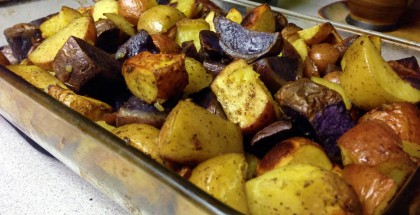 Amy's Oven Roasted Potatoes