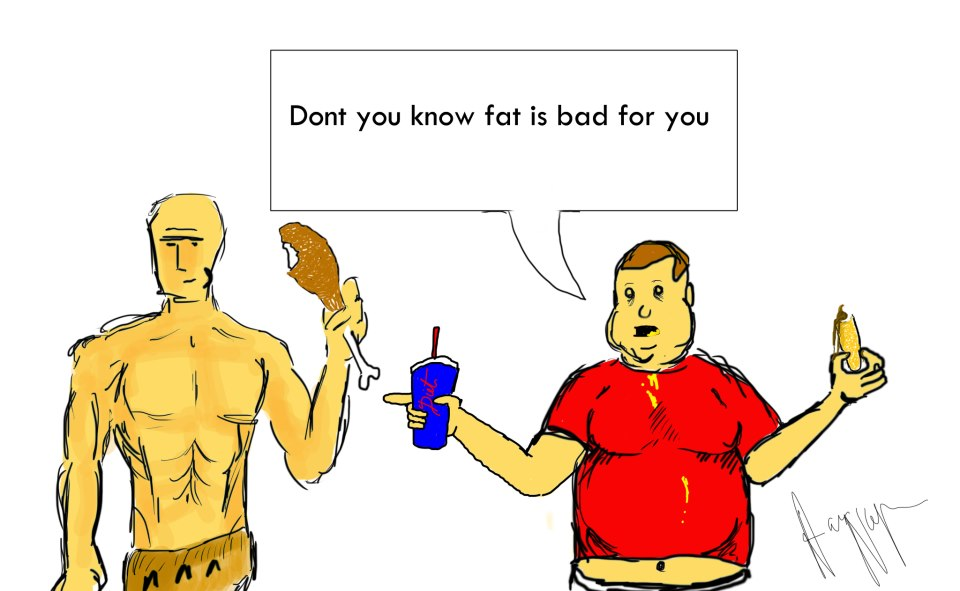 Fat is Bad For You