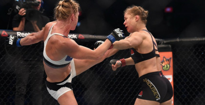 Holly Holm's Devastating Kick to Ronda Rousey